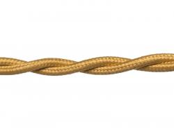 Провод РЕТРО ВВГ 3х1,5 ГОСТ золото (50)