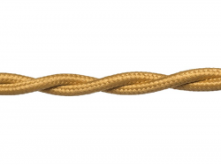 Провод РЕТРО ВВГ 3х1,5 ГОСТ золото (50), в Перми