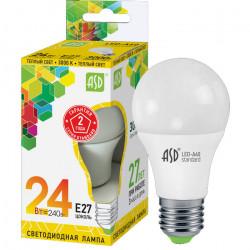 Лампа светодиодная ASD LED-A65-standard 24Вт Е27, в Перми