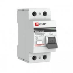 УЗО EKF PROxima 2п 25А 10мА электромеханическое (1)