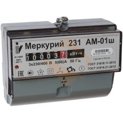 Счетчик Меркурий 231 АМ-01Ш 3ф 1Т 5-60А, в Перми