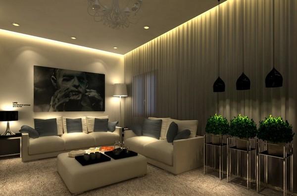 световой сценарий системы освещения дизайн фото управление освещением