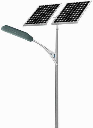 Уличный светильник на солнечной батареи