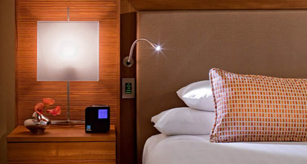 Свет для чтения в спальне