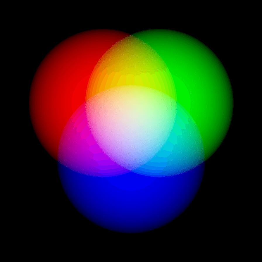 Белый + RGB