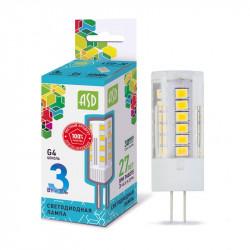 Лампы СД ASD LED A60 STD 230В Е27 3000К в ассортименте