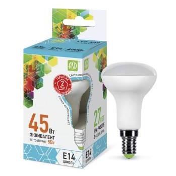 Лампы сд ASD LED-GX53-standard 4000K в ассортименте