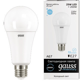 Лампы СД OLL-A60-15-230-E27 в ассортименте, 4650074 61149 5