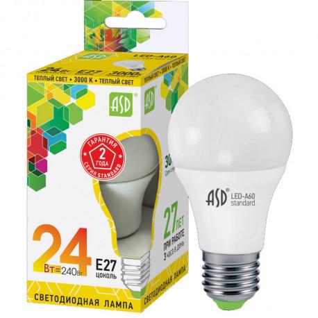 Лампа галогенная ASD JCDR 50Вт 220В GU5.3, 4607177993256