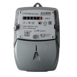 Счетчик ЦЭ6803ВШ/1 230В 5-60А М7 Р32 (3ф 1т комби) (8)